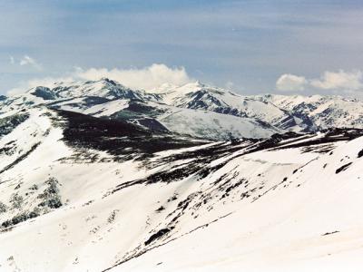 Peña Trevinca 2170 m